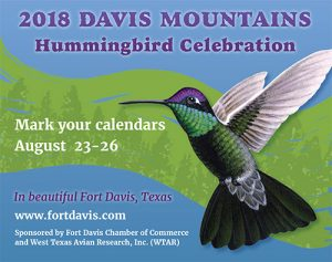 Davis Mountains Hummingbird Celebration