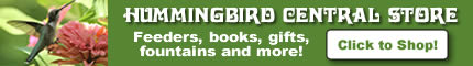 The Hummingbird Central Store: feeders, books, supplies, gifts and more!
